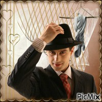 L'homme au chapeau ...