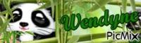 Panda alias Wendine bann