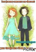 Severus Rogue et Lily Evans