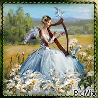 Engel und Gänseblümchen - Wettbewerb