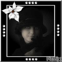 portrait femme rétro