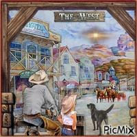 Aquarelle western