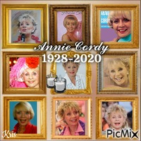 Hommage Annie Cordy /collage🌹🌼