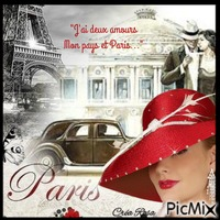 Concours : Rêves de Paris - Vintage