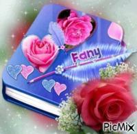 Diario con plumas y rosas