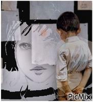 Le portrait (Chanson de Calogero)