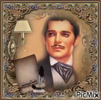 Portrait vintage homme