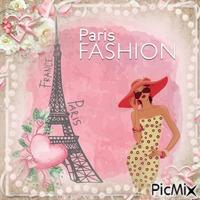 Paris fashion vintage