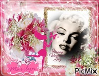 Happy woman's day M.Monroe