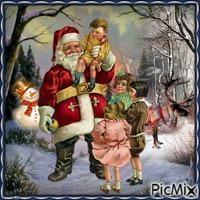 Le Père Noël et un enfant - Contest