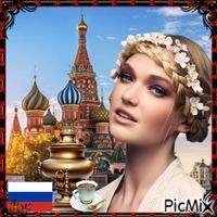 une femme de Russie ❤️🌼