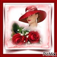 Her Lovely Red Hat