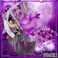 La merveille du violet.