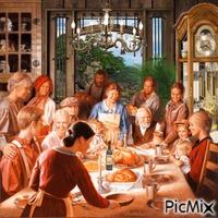 Thanksgiving en famille.