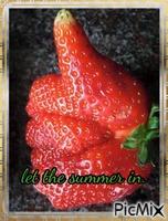 I love the summer