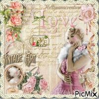 Vintage Love , pour Lamouline !