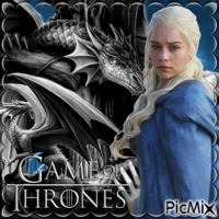 Mother Of Dragons - Blue And Grey
