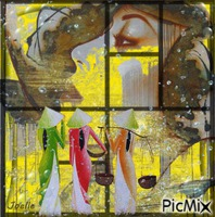 Peinture figurative abstraite !
