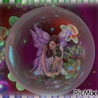 Prisonnière dans ma bulle.