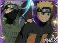Kakashi et Naruto