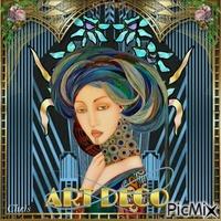 Femme art nouveau