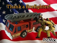 Thank a firefighter!