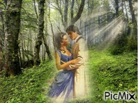 romance dans les bois
