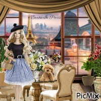 Barbie In Paris