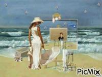 peinture la mer