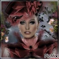 Woman retro portrait2