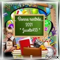 BONNE RENTREE 2021 MA JACOTTE435