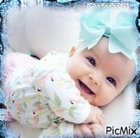 Séance photo du bébé le plus mignon
