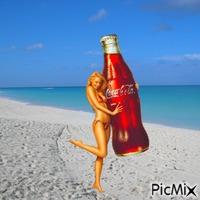Coca-Cola lady