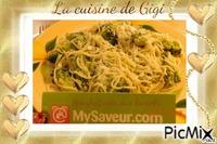 Spaghettonis aux brocolis