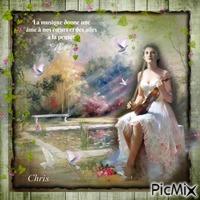 La jeune femme au violon