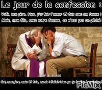 Le jour de la confession