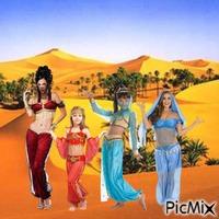 Arabian harem quartet