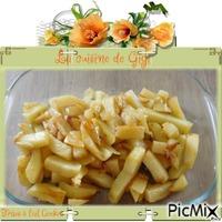 Frites à l'ail Cookeo