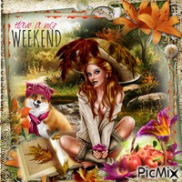 have a nice weekend lilie :P