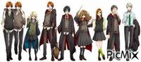 Personnages principaux Harry Potter
