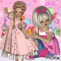 Colourful Doll's