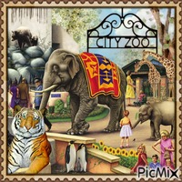 Wilde Zootiere