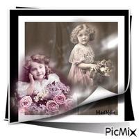 fillettes vintage