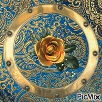 fleur cuivre