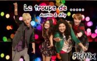 La troupe d'Austin & Ally