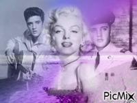 Elvis et Marylin