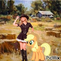 Cowgirl and Applejack