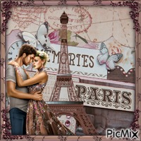 Erinnerungen an Paris - Wettbewerb