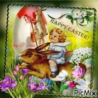 Ostern mit Hase
