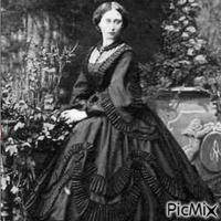 Femme époque Victorienne